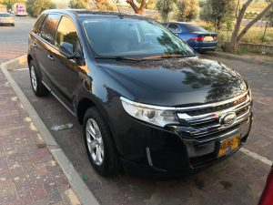 Ford Edge front 1